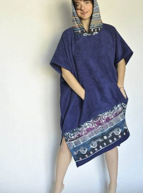poncho beach towel cotton cod.pn807b