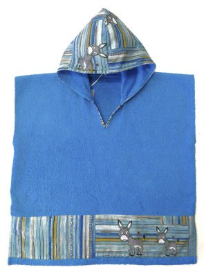 kids beach poncho cotton cod.0014